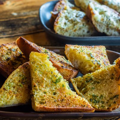 garlic bread, food menu, food, eating out, places to eat out, lunch, sides, bournemouth, poole, wimborne, ashley cross